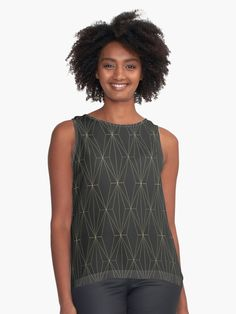 Buy 'Gold Geometric Pattern' by Catoutline as a T-Shirt, Classic T-Shirt, Tri-blend T-Shirt, Lightweight Hoodie, Women's Fitted Scoop T-Shirt, Women's Fitted V-Neck T-Shirt, Women's Relaxed Fit T-Shirt, Graphic T-Shirt, Women's Chiffon Top...