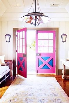 Make sure your entranceway reflects who you are — it's how energy comes into your home. | 14 Easy Tips That Will Help You Be Happier In Your Home