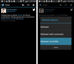 The Complete Guide to Smarter Social Sharing on Mobile: Buffer for Android and iPhone - - The Buffer Blog