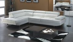modern white sectional sofas contemporary Contemporary Sectional Sofas