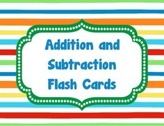 free flashcards for subtraction within ten includes link to blog post sharing ideas for having. Black Bedroom Furniture Sets. Home Design Ideas