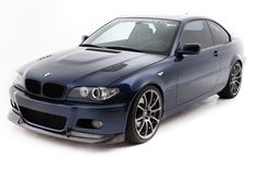 PYSpeed.com | VMR V701 Gunmetal Wheels with Vorsteiner Hood on E46 (We Love It!)