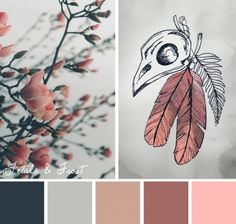 Try this Petals & Frost color scheme out on your embroidery designs.