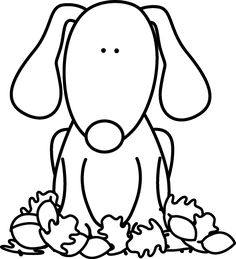 gallery for dog black and white clipart scrap booking and smash rh pinterest com black and white dog house clipart black and white dog paw print clipart