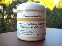 Dream whipped gold exfoliating body wash light cocoa & by BodyLuv, $9.00
