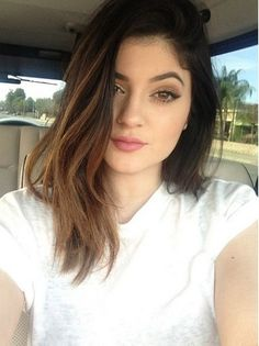 hair - cut  color Light Brown Highlights, Hair Highlights, Cute Girls Hairstyles, Hairstyles For School, Dark Hair, Brown Hair, Hair Trends 2015, Style Kylie Jenner, Style Casual