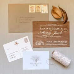 Akimbo :: Quirky beautiful wedding invitations :: Adelaide, Australia & Worldwide - Real wooden invitations!
