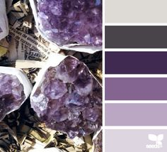 Amethyst Hues - http://design-seeds.com/index.php/home/entry/amethyst-hues3
