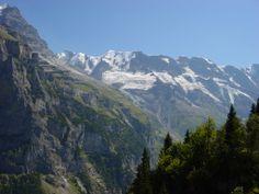 Uitzicht vanaf de Almendhubel boven Murren