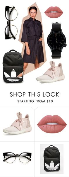 A fashion look from September 2016 featuring adidas jersey, adidas backpack and metal watches. Browse and shop related looks. Lime Crime, Autumn, Adidas, Shoe Bag, Polyvore, Shopping, Collection, Shoes, Design
