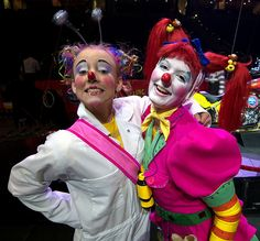 Joy & Trish - Ringling Clowns by hbp_pix, via Flickr