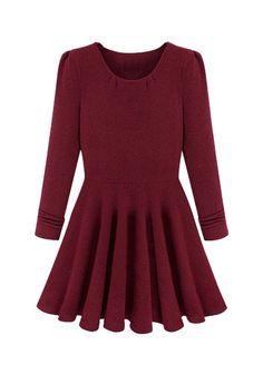 3c55203dc0836 Cotton Blend Soft Skater Dress Cheap Dresses