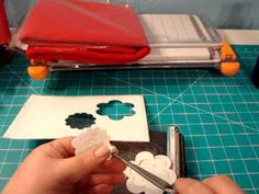 Day 10-Experiment with felt, foam and the 3D Flower Sizzix Die - YouTube