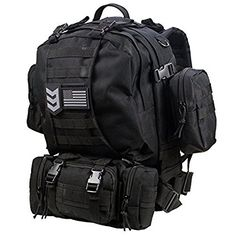 7bfe67c5b543 Amazon.com   Paratus 3 Day Operator s Pack - Military Style MOLLE  Compatible Tactical Backpack