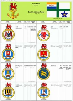 Sa Navy, Defence Force, Special Forces, Badges, South Africa, Ships, Military, War, History