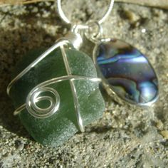 Items similar to Handmade Seaglass Jewelry: Seaglass Abalone Necklace Newfoundland on Etsy Sea Glass Jewelry, Drop Earrings, Newfoundland, Unique Jewelry, Handmade Gifts, Crafts, Stuff To Buy, Etsy, Kid Craft Gifts