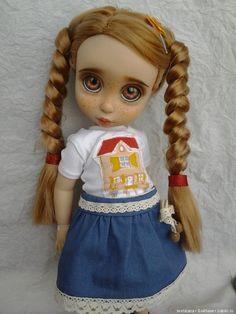 ООАК кукол Disney animators collection [5 превращений в красавиц] / ООАК Принцессы Диснея, Disney Princess / Бэйбики. Куклы фото. Одежда для кукол