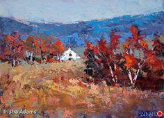 Blue Ridge Vista by Trisha Adams Oil ~ 18 x 24