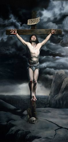 Erotic Gay Male Crucifixion