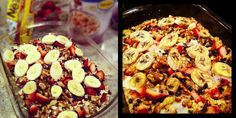 (Gluten-Free) Baked Oatmeal - All favorite things Casserole