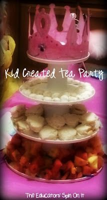 The Educators' Spin On It: Make your Own Friendship Tea Party created by your child and their friends!