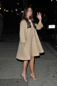 Nikki Reed - Celebrities Keep Cozy in Chic Coats - Photos