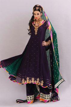 Pakistani & Indian Frocks 2013 For Women