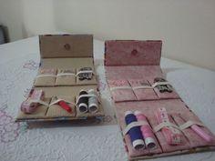 Kit de costura de bolsa | Papel, Tecido & Amor | Elo7