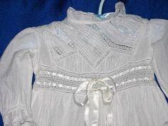Victorian Christening Gown Precious Handdone by weewondersinc