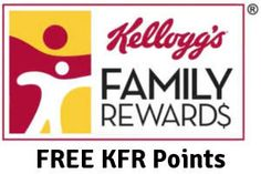 FREE Kellogg's Family Rewards Points on http://www.freebies20.com/