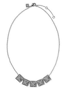 Five Pyramid Necklace | Banana Republic