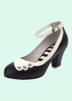 bc339b3076a Super fin vintage inspireret pump fra Lola Ramona.Denne smukke sko har en  fantastisk pasform