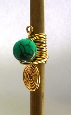 Locs jewelry with bead - use Swarovski crystal - make sure that jewelry can be easily put on and taken off locs