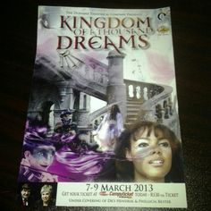 Kingdom of a thousand Dreams @ Gold Reef City @ The Lyric theatre.....Sooooo Excited