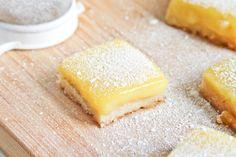Meyer Lemon Bars with Sea Salt | @fritesandfries