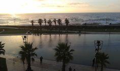 Coucher de soleil sur Morocco Mall!