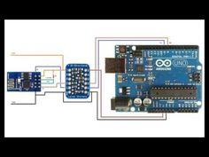 #Arduino using a #ESP8266 via a Bi-Direction logic level converter - YouTube