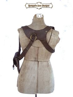 Leather Holster bag shoulder holster festival bag от Renegadeicon