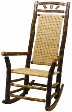 Old Hickory High Back Wagon Wheel Outdoor Rocker Cabinet Furniture, Home Furniture, Modern Furniture, Outdoor Rocking Chairs, Outdoor Cushions, Coaster Fine Furniture, Furniture Making, Old Hickory Furniture, Antique Furniture