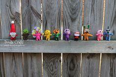 Doodle Craft...: Make Your Own String Voodoo Dolls!
