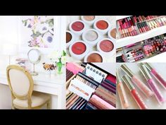 MAKEUP COLLECTION AND STORAGE 2017! Andrea Matillano - YouTube