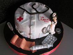 Paso a paso tarta fondant enfermera (sin gluten)