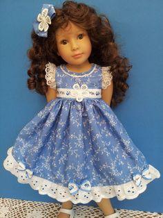 Salstuff Lovely Blue Dress Fits Kidz N Cats Hannah Happy Gotz Designafriend | eBay