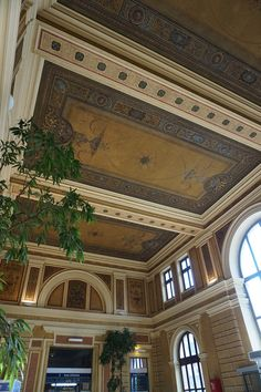 Beautiful Railway Station in Bielsko-Biala, Poland