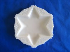 Milk Glass Star Plate