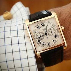 Cartier. Don't usually like square but this is gorgeous!
