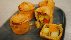 Rustle up a warm root vegetable pie