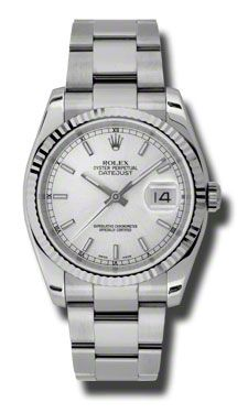 Rolex Oyster Perpetual Datejust Item#: 116234SSO Watch Bentley Diamond Wall New Jersey