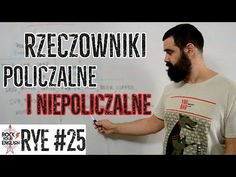Rzeczowniki policzalne i niepoliczalne (Countable/Uncountable Nouns) | ROCK YOUR ENGLISH #25 - YouTube Students, English, Deep, Youtube, Literatura, English Language, England, Youtubers, Youtube Movies