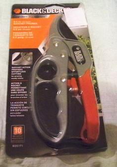Black & Decker Ratchet Pruner BD5171 Garden IQ Series NIP http://www.bonanza.com/listings/38461631